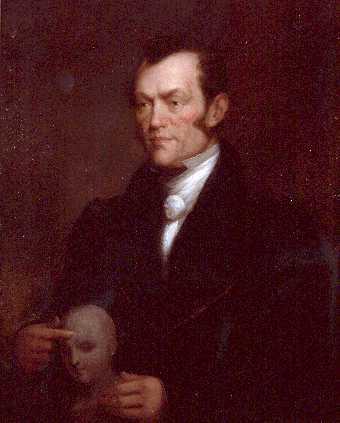 Portrait of Johann Gaspar Spurzheim