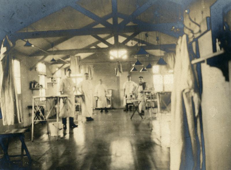 """""""Operating Theatre"""", circa 1918."""