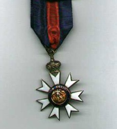 Companion of the Order of St. Michael and St. George Medal