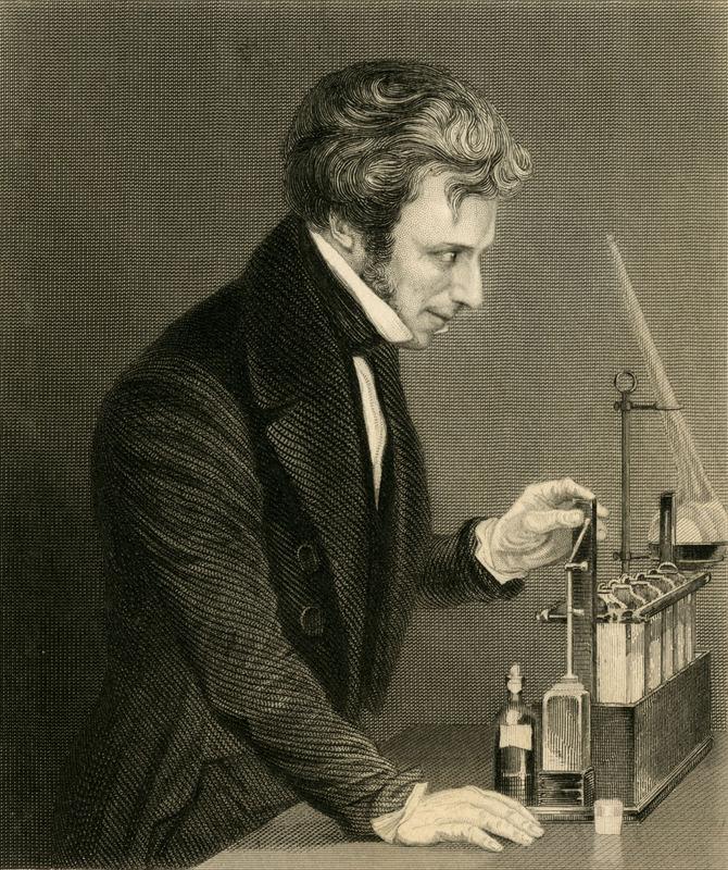 """""""Michael Faraday,  D.C.L., F.R.S."""""""