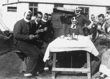 Group of Patients at Dr. Kazanjian's Ward