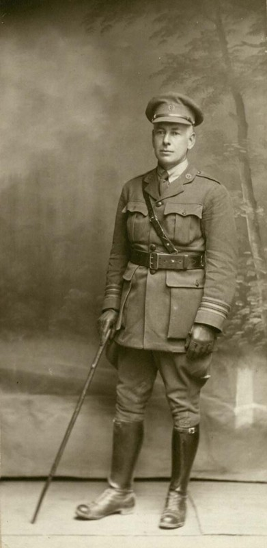 Photograph of Kendall Emerson, circa 1917.