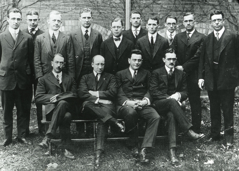 """""""Some of Our Doctors,"""" May 1916."""