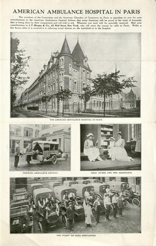 Circular, [New York, N.Y., October, 1914]