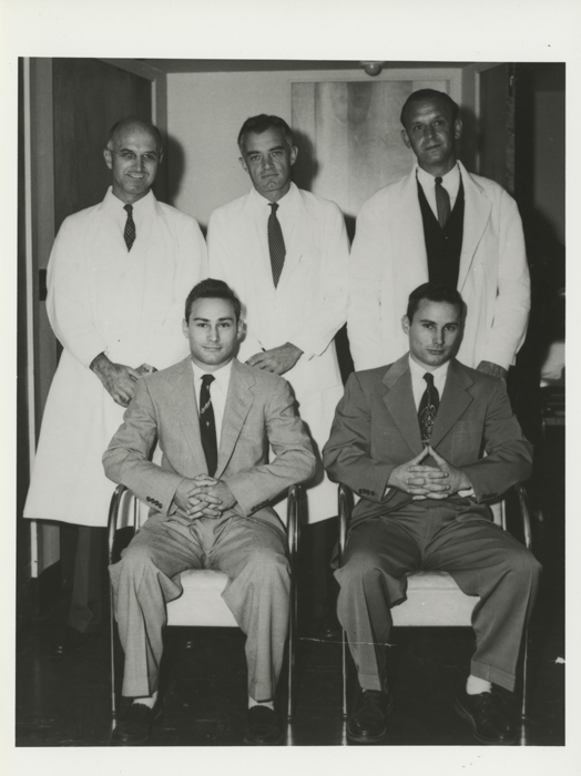 Herrick Twins with Physicians