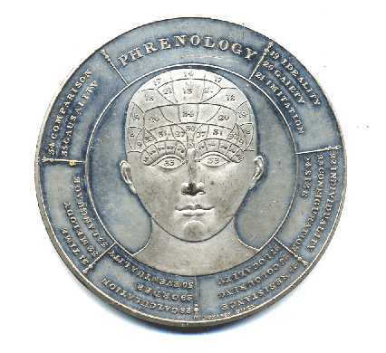 Medal depicting the symbolical head