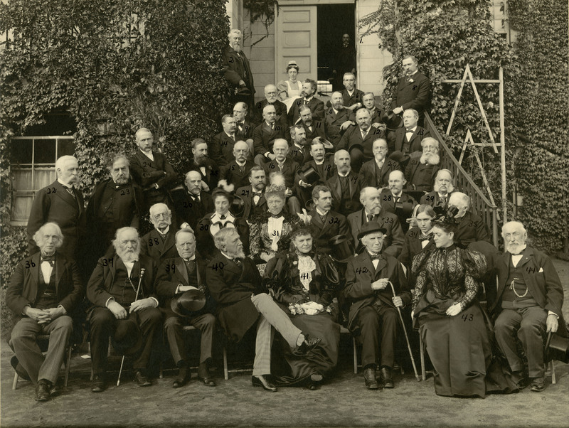 Photograph of the Semi-Centennial of Anaesthesia Celebration