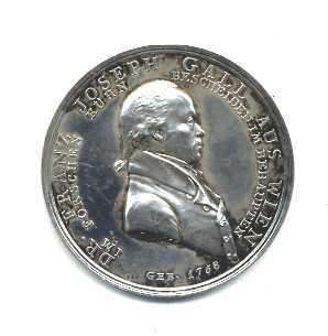 Medal depicting Franz Joseph Gall