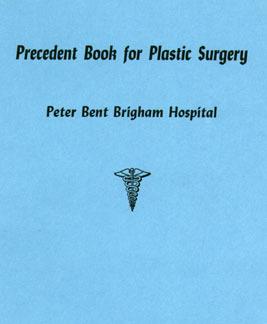 Precedent Book For Plastic Surgery