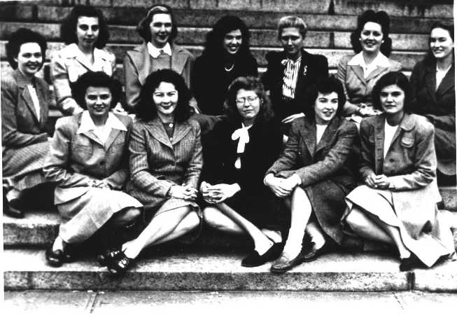 First Class of Women Admitted to Harvard Medical School, 1945