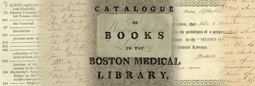 The Boston Medical Library of 1805