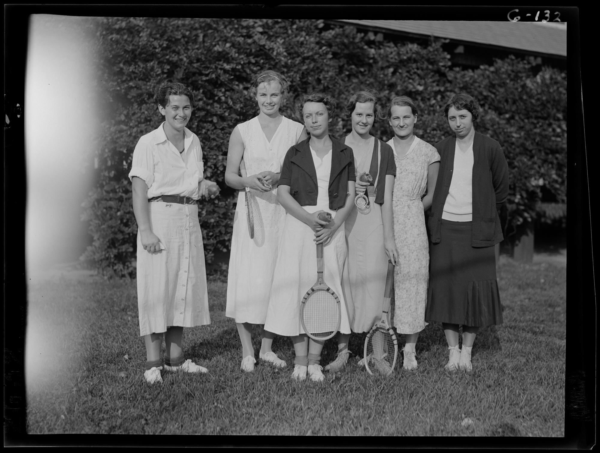Peter Bent Brigham Hospital nurse tennis team · Center for the ...