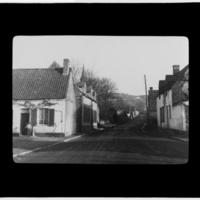Street through a small town