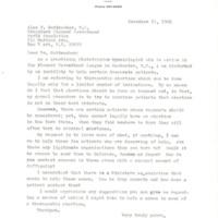 Letter to Alan Guttmacher from Leo J. Holmsten