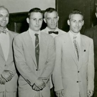 Herrick brothers with the transplant team