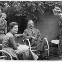Elizabeth Zetzel, Lucie Jessner, Stanley Cobb, and Eleanor Pavenstedt