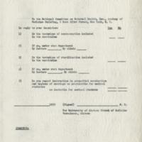 Survey of Medical Schools