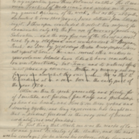 Letter from Benjamin Waterhouse to Wooster Beach