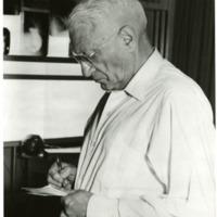 Photograph of Felix Fleischner, Radiologist-in-Chief, Emeritus, Beth Israel Hospital, Boston