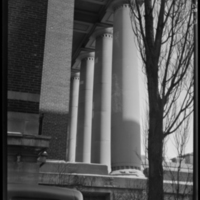 Colonnade of the Peter Bent Brigham Hospital