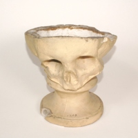 Phrenology cast of cranium with Paget's disease, 1812-1832
