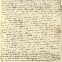 Letter from Johann Gaspar Spurzheim to Honorine Spurzheim