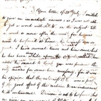 Letter to George H. Hall
