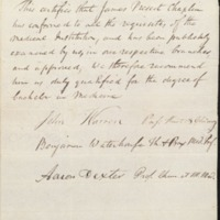 Document  by Benjamin Waterhouse