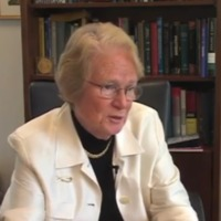Oral history interview with Patricia Donahoe (video)