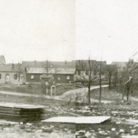 Panorama photograph of Camp Hospital No. 12.