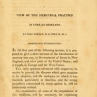 A View of the Mercurial Practice in Febrile Diseases