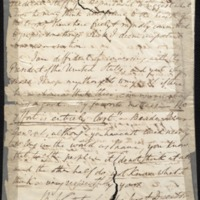 Letter to unknown recipient by Benjamin Waterhouse