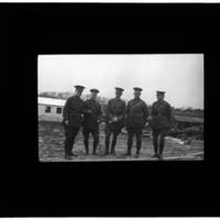 Five men in camp