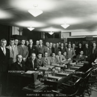 Photograph of the Fourteenth Seminar in Homicide Investigation for State Police, November 17-22, 1952, Department of Legal Medicine, Harvard Medical School.
