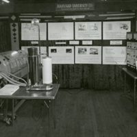 Exhibit on artificial respiration, created by the Department of Physiology at the Harvard School of Public Health