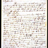 Letter from Benjamin Waterhouse to Edward Jenner