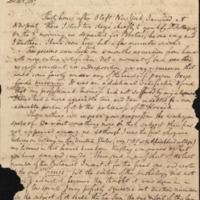Letter from Benjamin Waterhouse to David Hosack