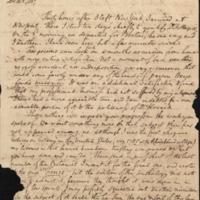 Letter from Benjamin Waterhouse to David Hosack