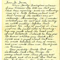 Letter from Anna Freud, page 1