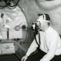 Altitude or pressure chamber at 55 Shattuck Street