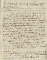 Letter from Benjamin Waterhouse  to John Mellen and the Selectmen of the Town of Cambridge