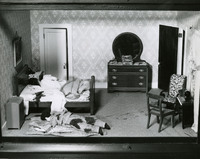 Photographs of the Nutshell Studies of Unexplained Death, circa 1946.