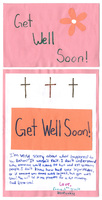 """Get Well Soon"" from Emma"