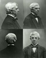 Photographic studies for a bust of Oliver Wendell Holmes