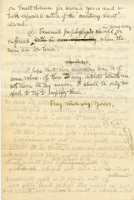 Draft of a Letter : Boston, Mass., to F. F. Simpson, Washington, D.C., February 17, 1917.<br />