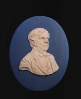 Wedgwood medallion of Oliver Wendell Holmes