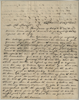 Letter from C. O. Cone to B. Palmer