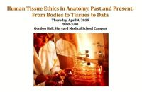 Human Tissue Ethics event poster