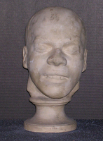 Phrenology cast of head of William Corder, 1828-1832