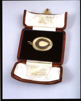 Lock of Edward Jenner's hair